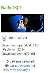 Edit OpenSUSE sesukanya